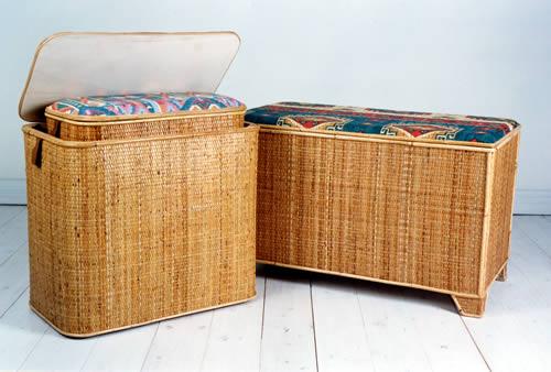 Nardi claudio lavorazione vimini bambu giunco for Cassapanca vimini
